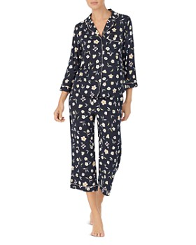 kate spade new york - Floral-Print Classic Pajama Set
