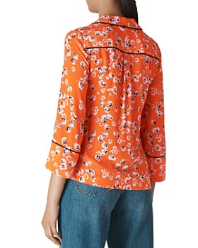 Whistles - Digital Daisy Pajama Shirt