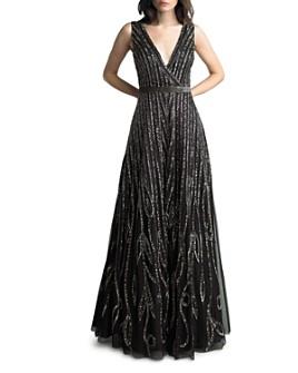 Basix - Beaded Sleeveless Gown