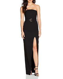 Nookie - Impulse Belted Strapless Gown