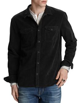 John Varvatos Star USA - Dale Corduroy Regular Fit Western Sport Shirt