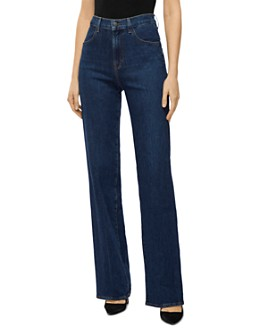 J Brand - Joan High Rise Wide-Leg Jeans in Badland
