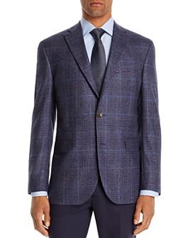 Jack Victor - Plaid Regular Fit Sport Coat