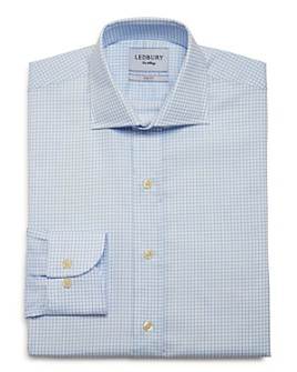 Ledbury - Kimball Check Slim Fit Dress Shirt