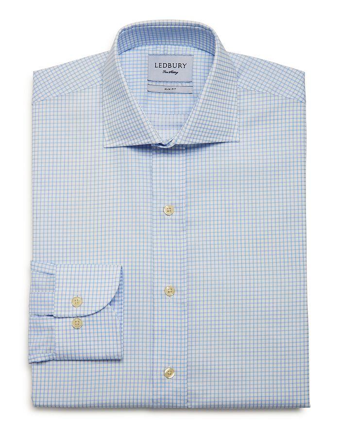 Ledbury - Kimball Check Slim Fit Dress Shirt