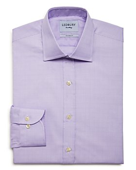 Ledbury - Babar Check Slim Fit Dress Shirt