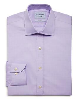 Ledbury - Babar Check Slim Fit Dress Shirt
