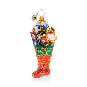 Christopher Radko Stocking Full of Toys! Ornament