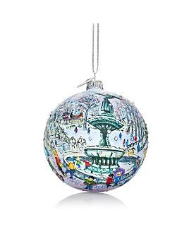 Michael Storrings - Bethesda Fountain Glass Ball Ornament