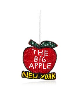 Sudha Pennathur - The Big Apple NYC Beaded Ornament