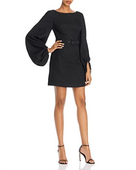Rebecca Vallance - Greta Balloon-Sleeve Cocktail Dress