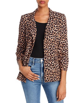 LIKELY - Amelia Leopard-Print Blazer