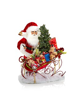 Karen Didion Originals - Christmas Delivery Sleigh Santa