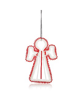 TO THE MARKET - Maasai Angel Beaded Ornament