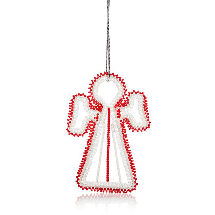 TO THE MARKET - Maasai Angel Beaded Ornament