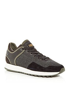G-STAR RAW - Men's Calow Mixed-Media Low-Top Sneakers