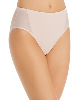 TC Fine Intimates - Mesh & Micro High-Cut Briefs