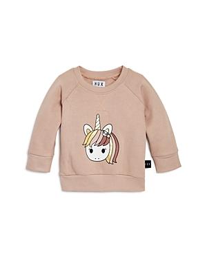 Huxbaby Girls' Unicorn Sweatshirt - Baby