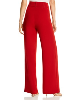 Cinq à Sept - Eliza Belted Crepe Pants