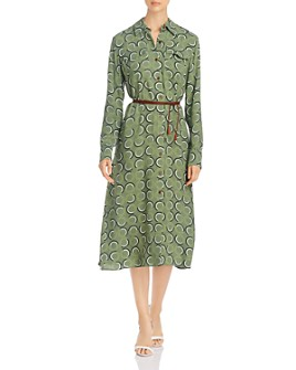 Lafayette 148 New York - Mandalyn Belted Shirt Dress