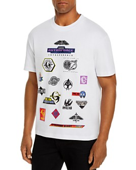McQ Alexander McQueen - Patch Graphic Tee