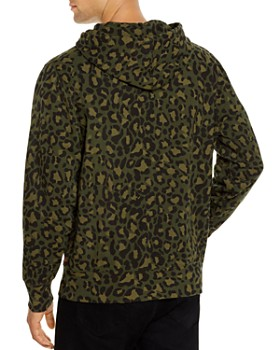 Levi's - Leopard-Print Logo Graphic Hooded Sweatshirt