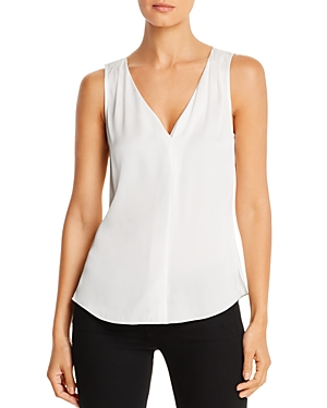 Kobi Halperin Georgie Silk-Blend V-Neck Tank