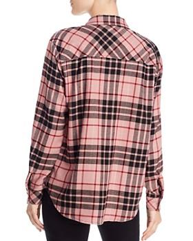 Splendid - Metallic-Plaid Shirt