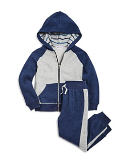 Splendid - Boys' Color-Block Hoodie & Jogger Sweatpants - Little Kid