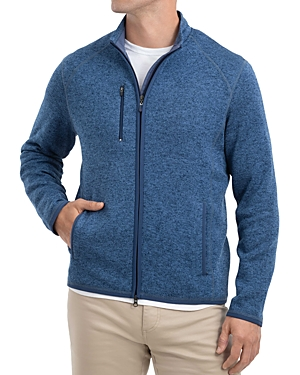 Johnnie-O Sweaters BATES ZIP SWEATER
