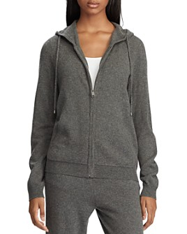 Ralph Lauren - Washable Cashmere Hooded Sweatshirt - 100% Exclusive