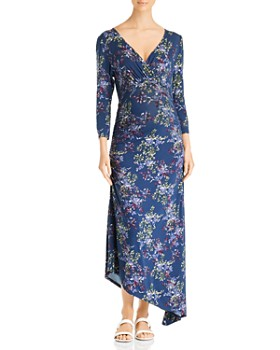 Ingrid & Isabel - Maternity Printed Asymmetric-Hem Dress