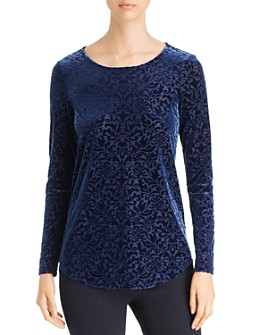 Karen Kane - Velvet Burnout Top