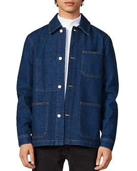 Sandro - Workwear Denim Slim Fit Jacket