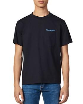 Tommy Hilfiger Jeans Tee Shirt Multistripe 4132 Bleu