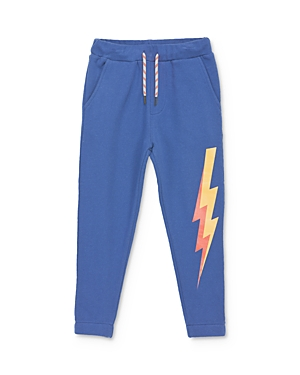 Mini Series Boys' Lightning Bolt Jogger Sweatpants, Little Kid - 100% Exclusive