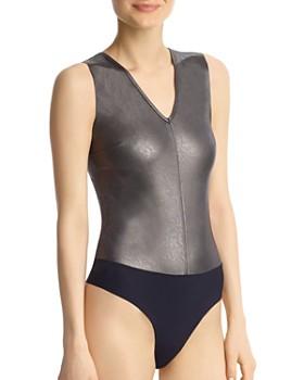 Commando - Faux Leather Bodysuit