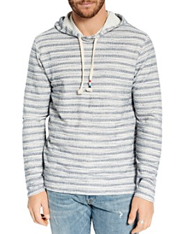 SOL ANGELES - Loop Striped Hooded Sweatshirt