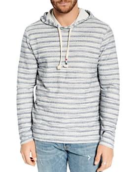 SOL ANGELES - Loop Striped Hooded Sweatshirt