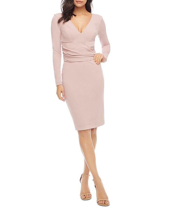 Dress the Population - Drew Long Sleeve Dress