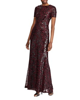 Ralph Lauren - Sequined Evening Gown