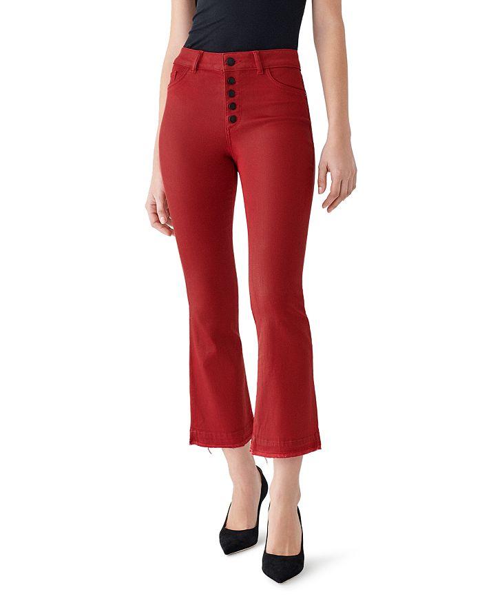 DL1961 - Bridget Crop Boot Jeans in Cheri