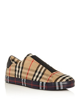 Burberry - Men's Markham Slip-On Sneakers