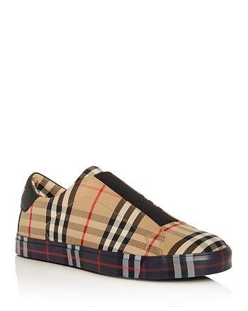 Burberry - Men's Markham Slip-On Sneakers