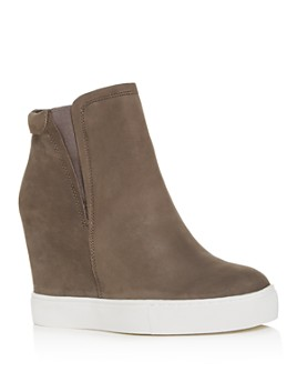 Kenneth Cole - Women's Kam Pull-On Wedge High-Top Sneakers