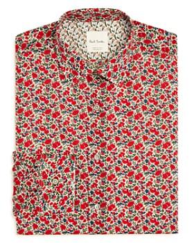 Paul Smith - Gents Floral Print Regular Fit Dress Shirt
