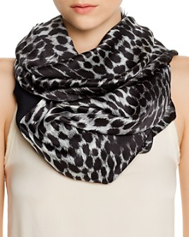 Echo - Cheetah Print Oblong Tubular Scarf - 100% Exclusive