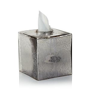 Kassatex Versailles Tissue Holder In Mercury Glass