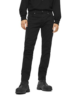 Diesel - Thommer Slim Fit Jeans in Black/Denim