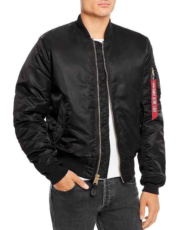 MA 1 Reversible Slim Fit Bomber Jacket